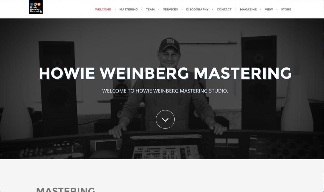 Howie Weinberg Mastering Website