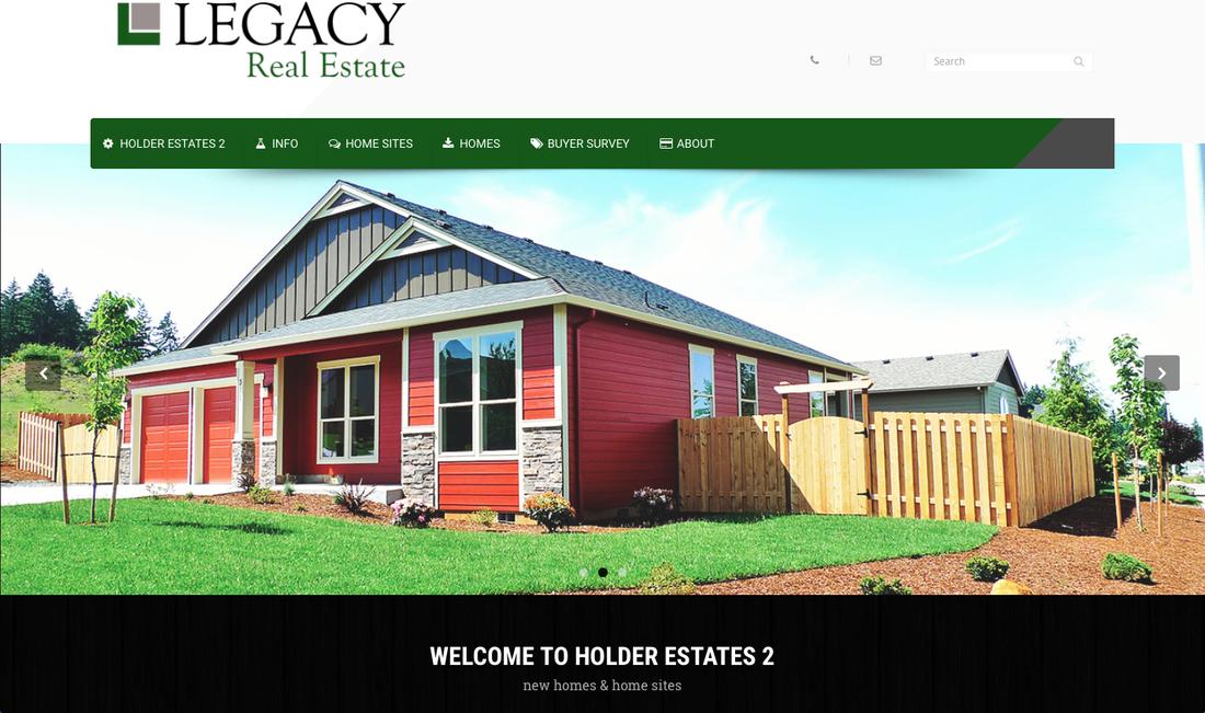 Legacy Real Estate Website