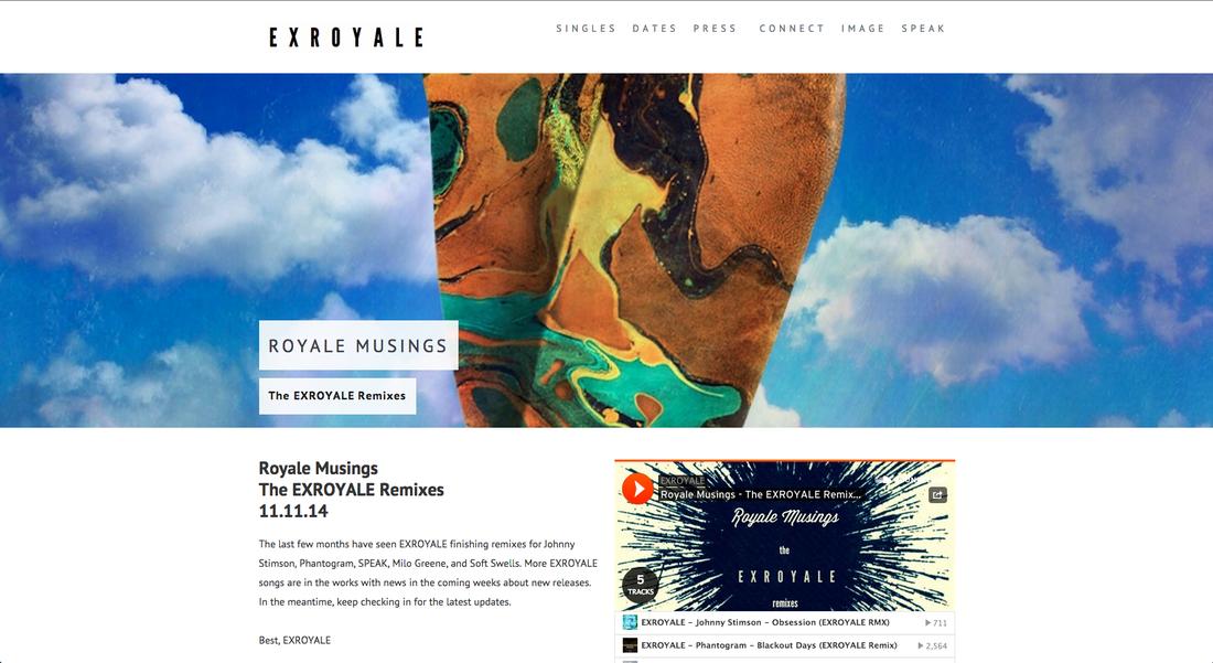 EXROYALE Website