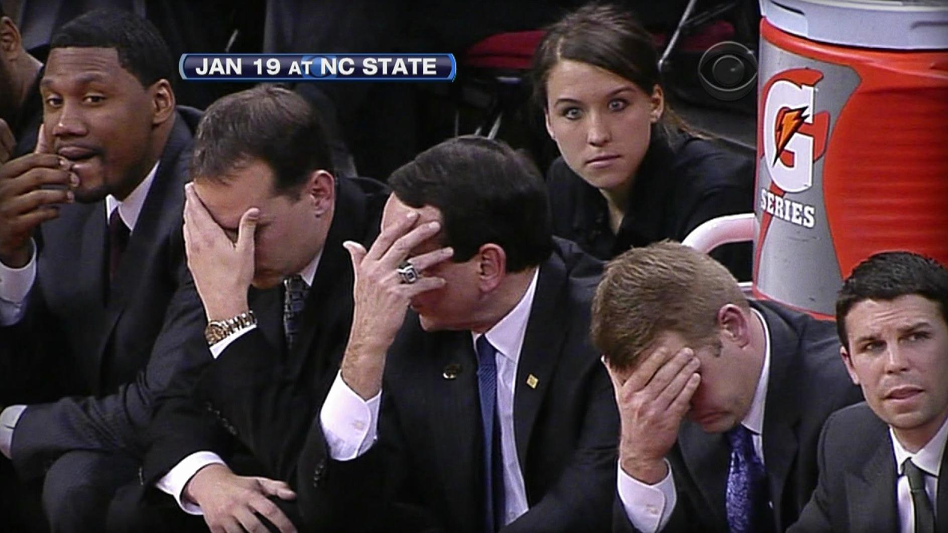 I know, Coach K, I know...