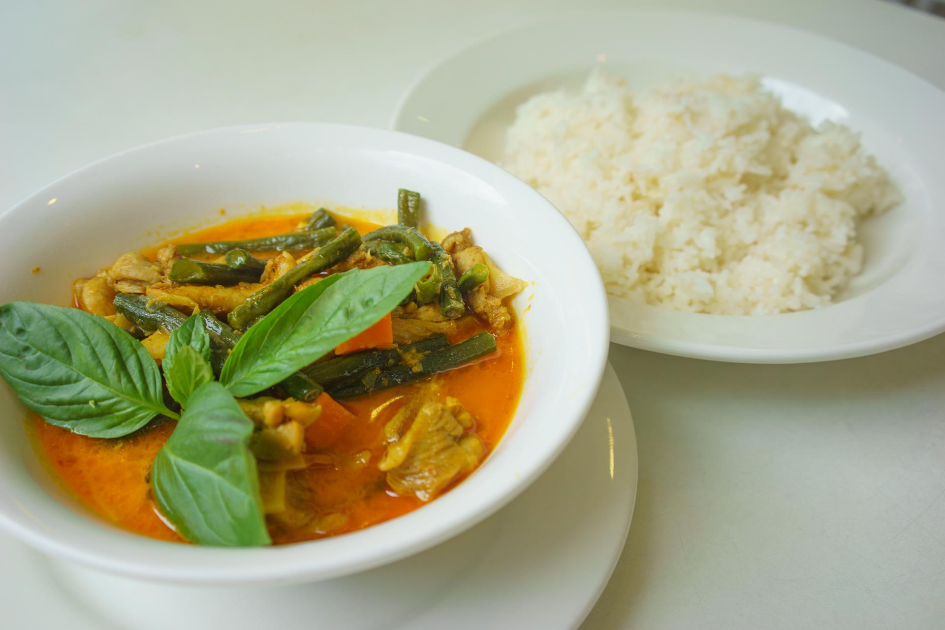 Curry chicken rice ~ com ca ri ga