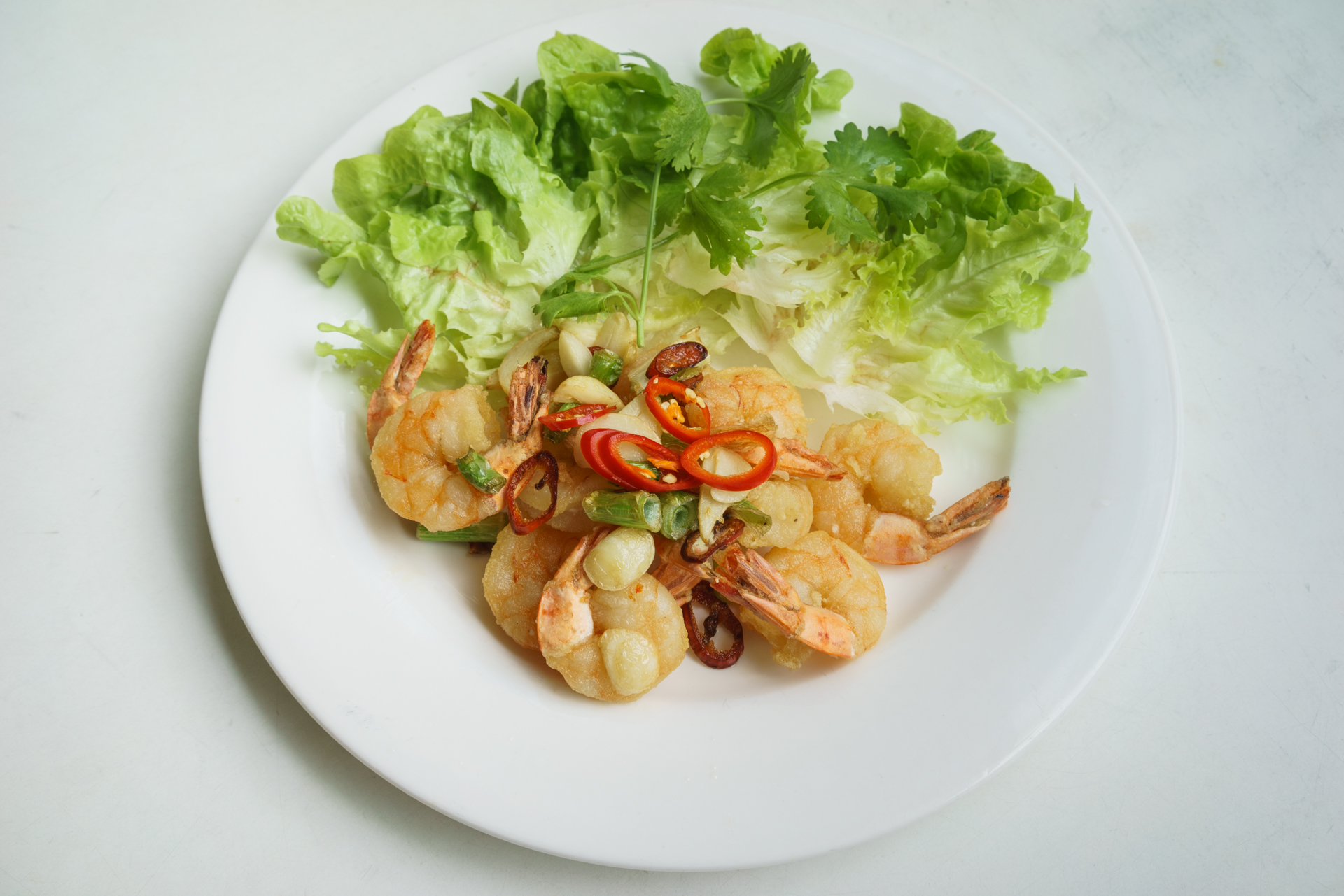 spicy prawns ~ tom rang muoi