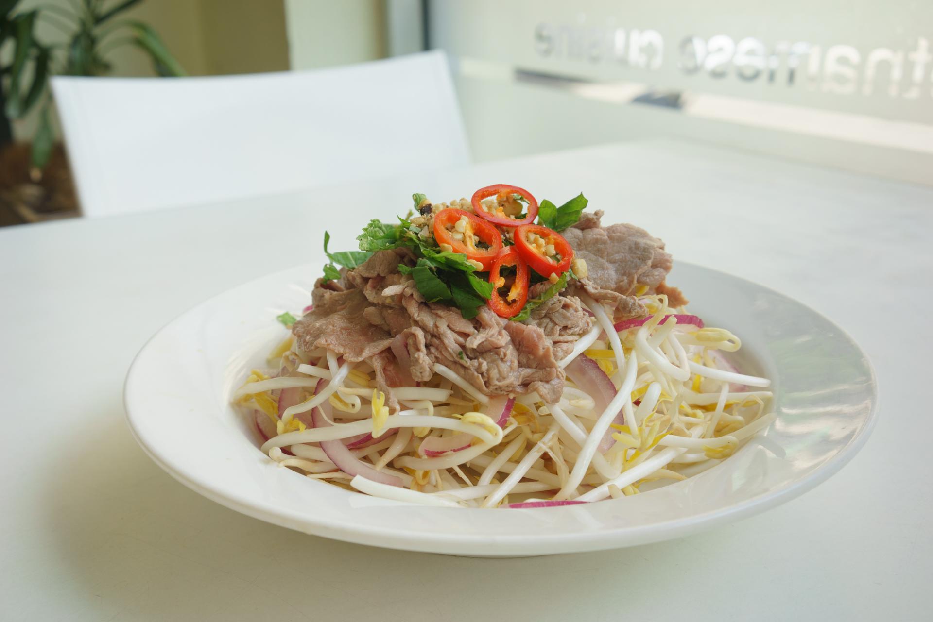 beef salad ~ goi bo