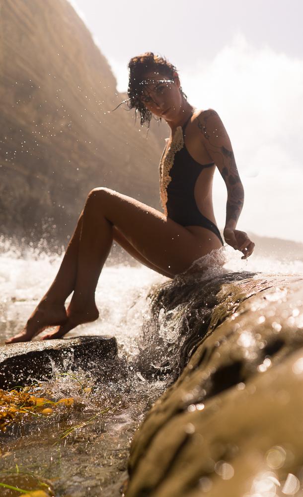 Dani at the Beach.JPG