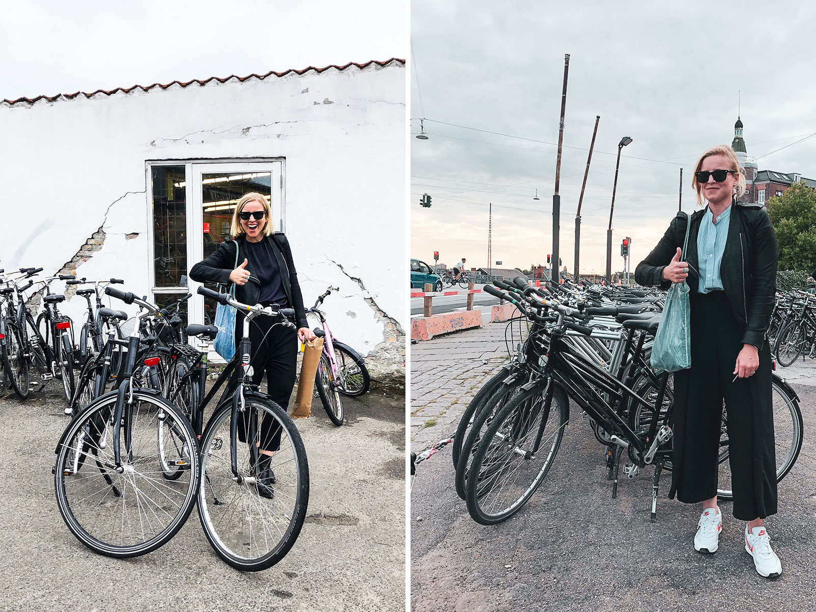 First day / last day with our bikes