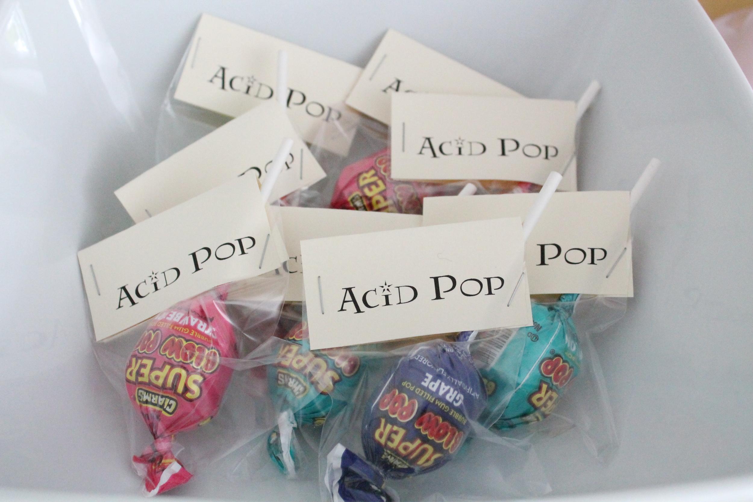 Harry Potter Candy- Acid Pops