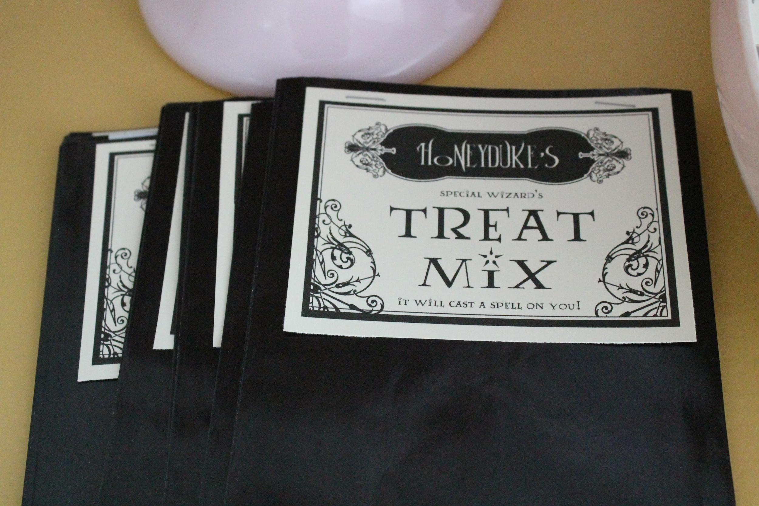 Harry Potter Treat Bags