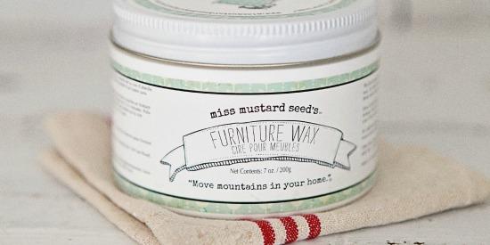 Miss Mustard Seed Furniture Wax