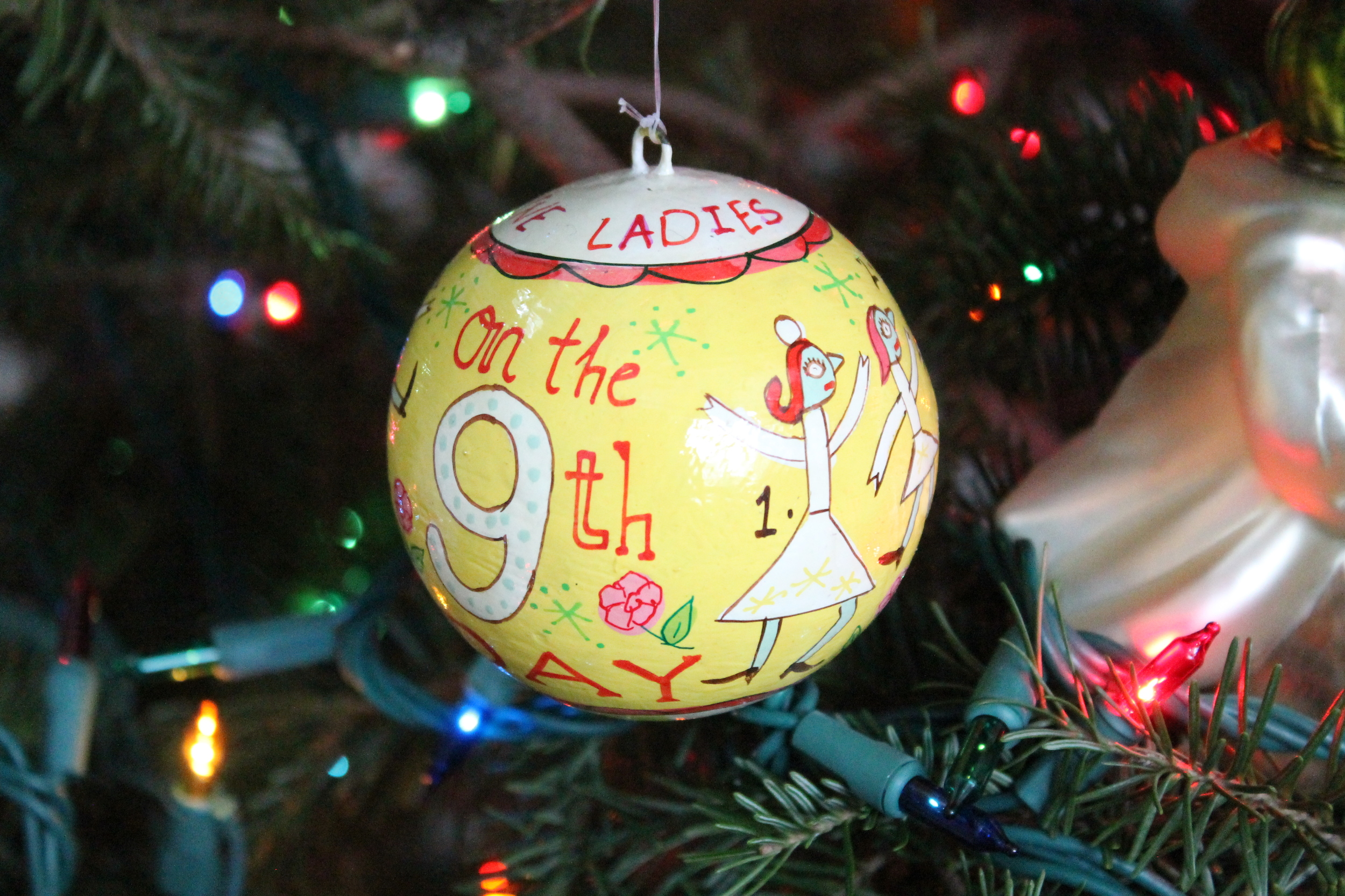 12 Days of Christmas Ornament from the Land of Nod