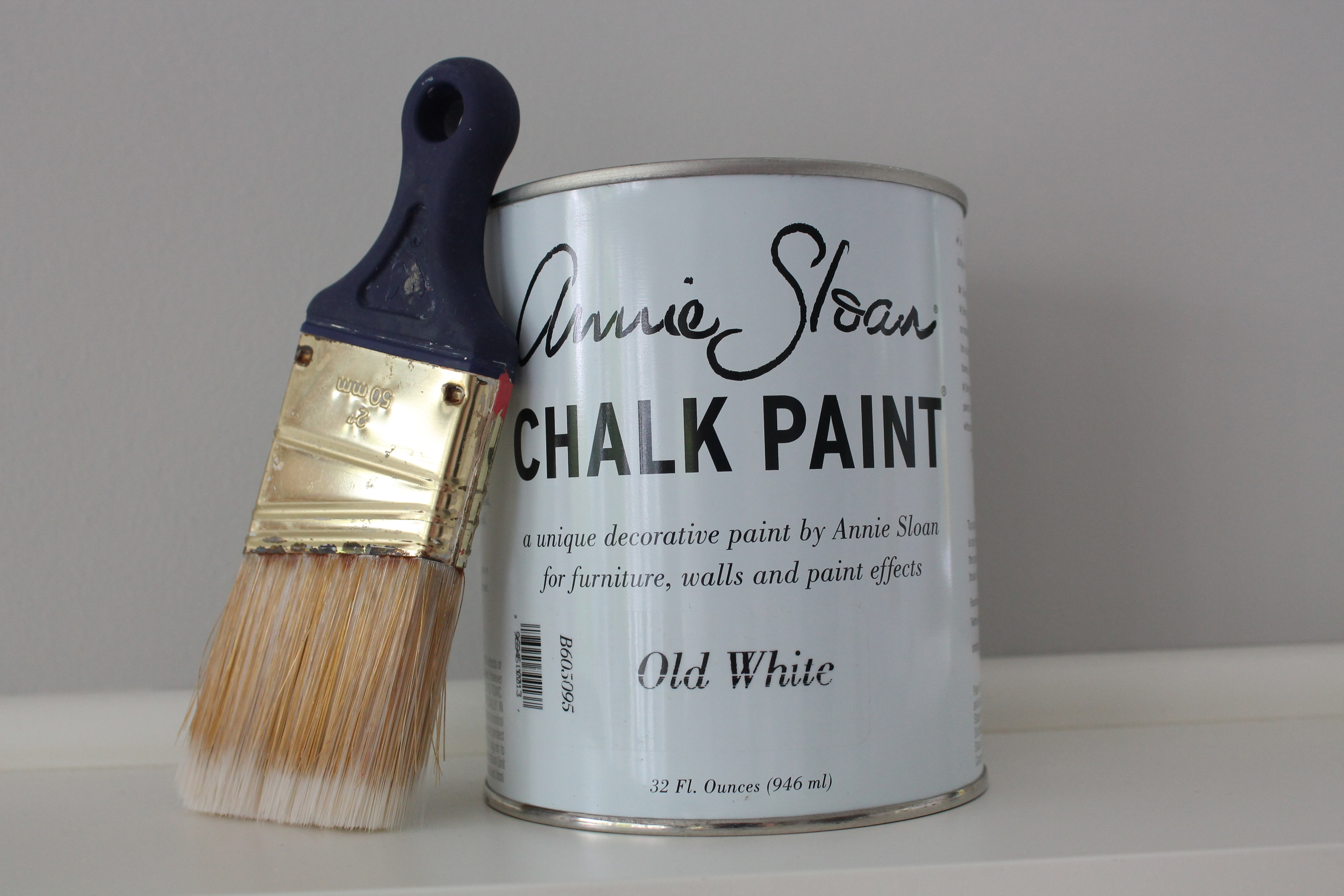 Paint a frame with Annie Sloan Chalk Paint.