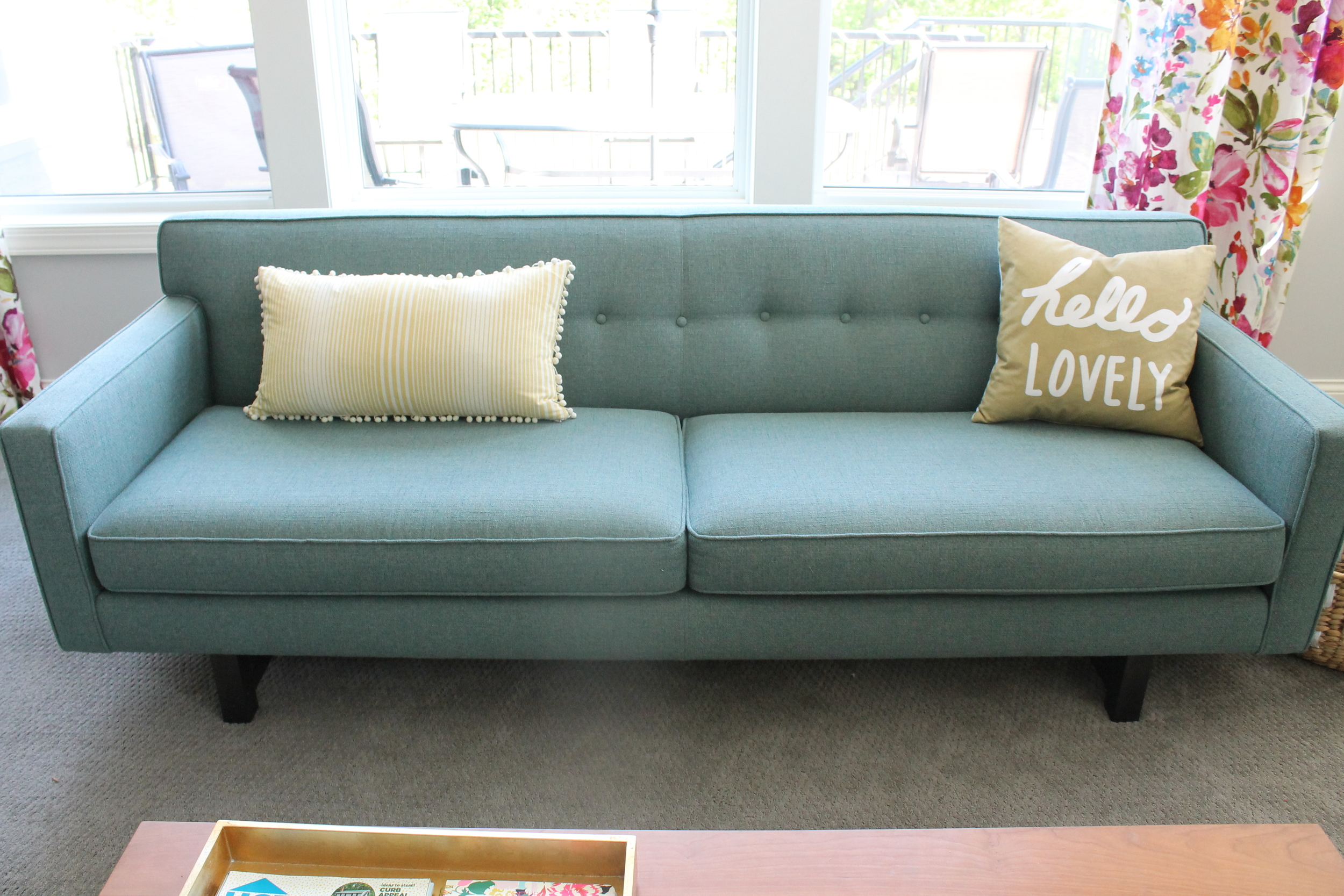 Mid Century Modern Sofa. The Andre from Room and Board.