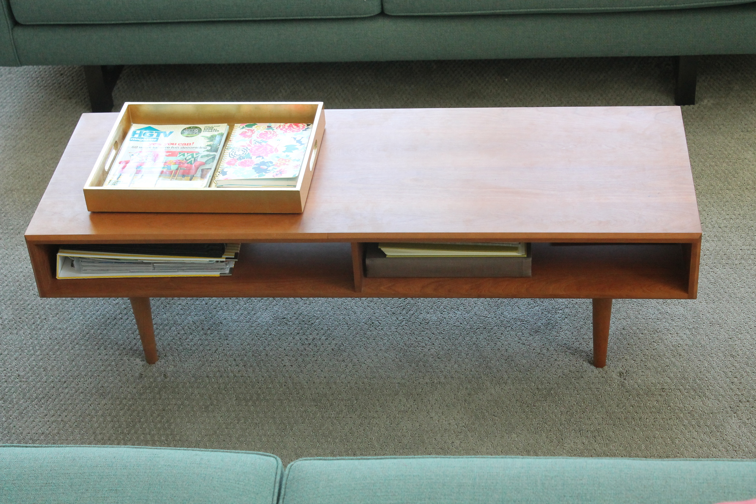 Mid Century Modern Coffee Table from Room and Board