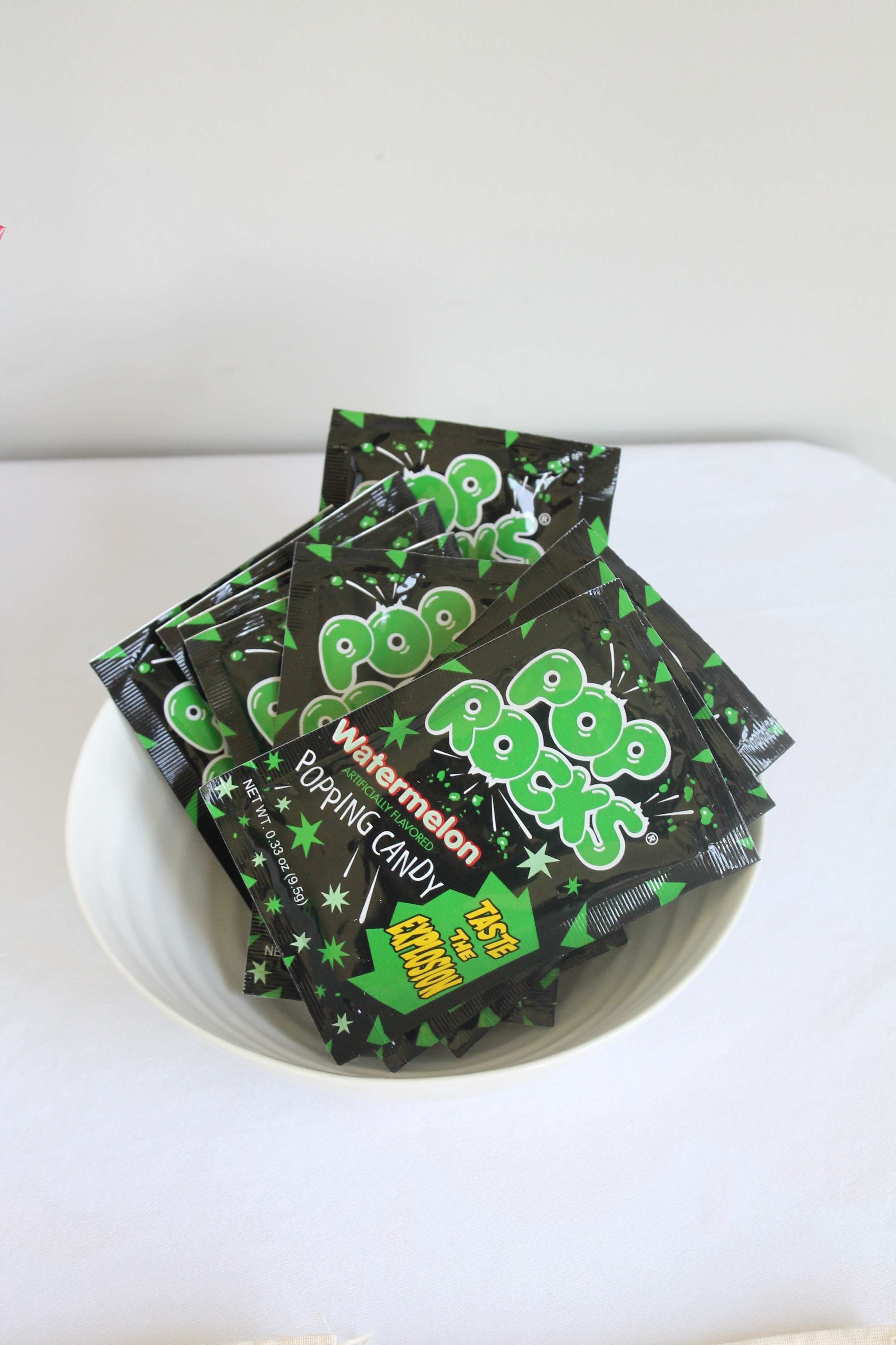Pop Rocks for a Rock birthday party.