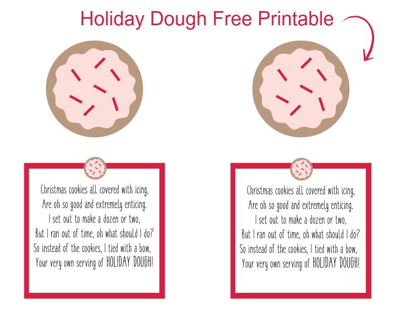 Christmas Money Printable. Free Printable for Holiday Cash