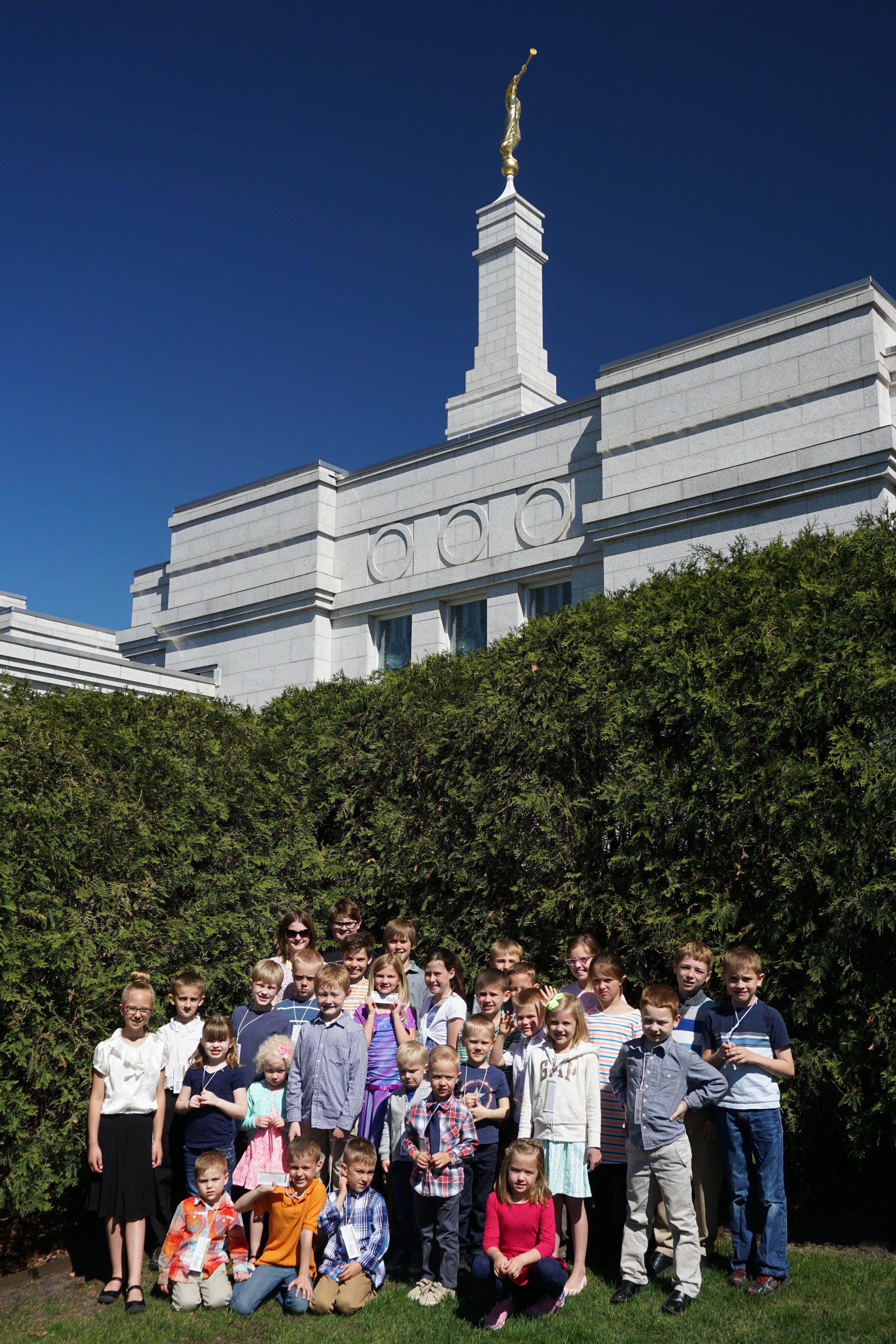 LDS Primary Temple Day