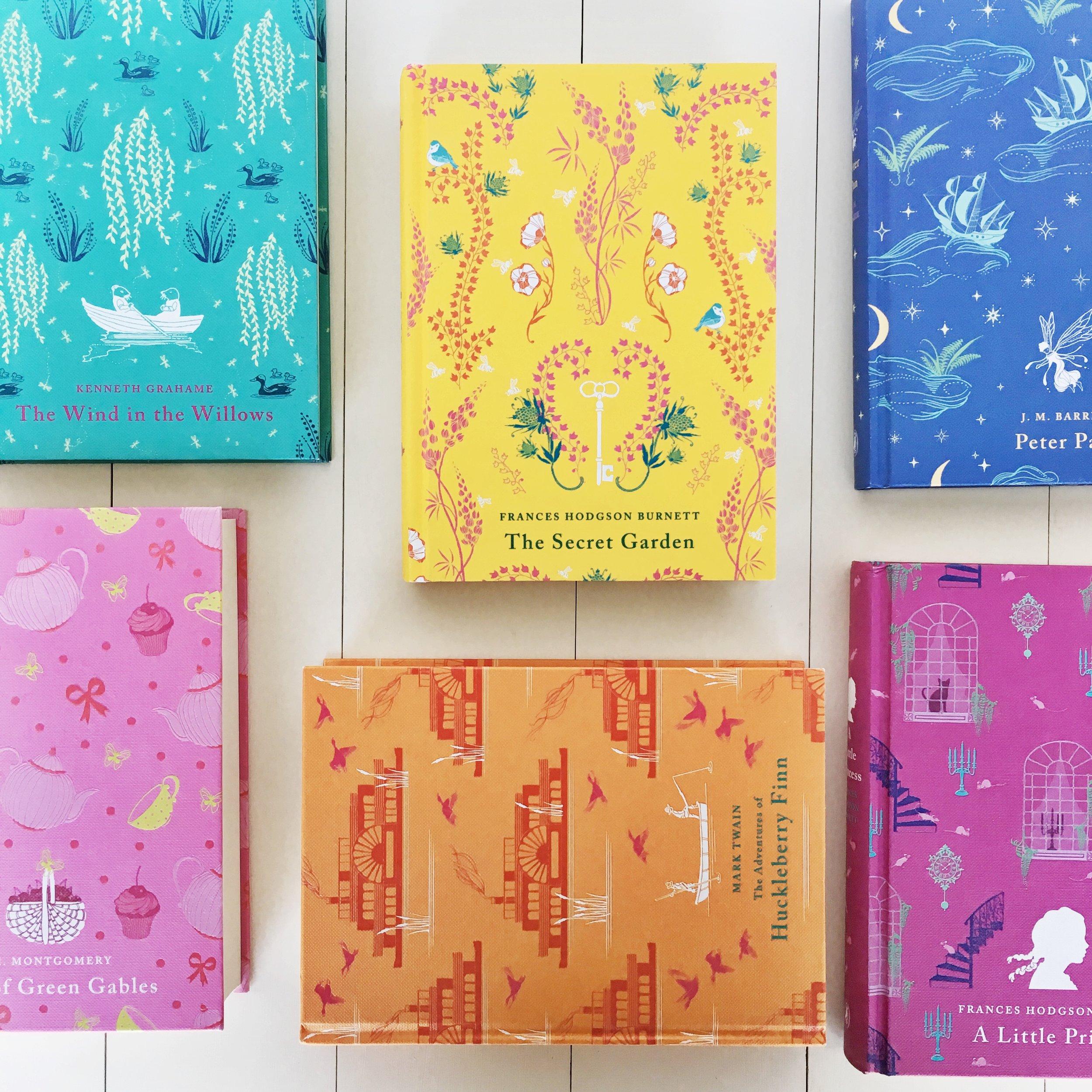 Beautiful Books Puffin Hardcover Classics Box Set
