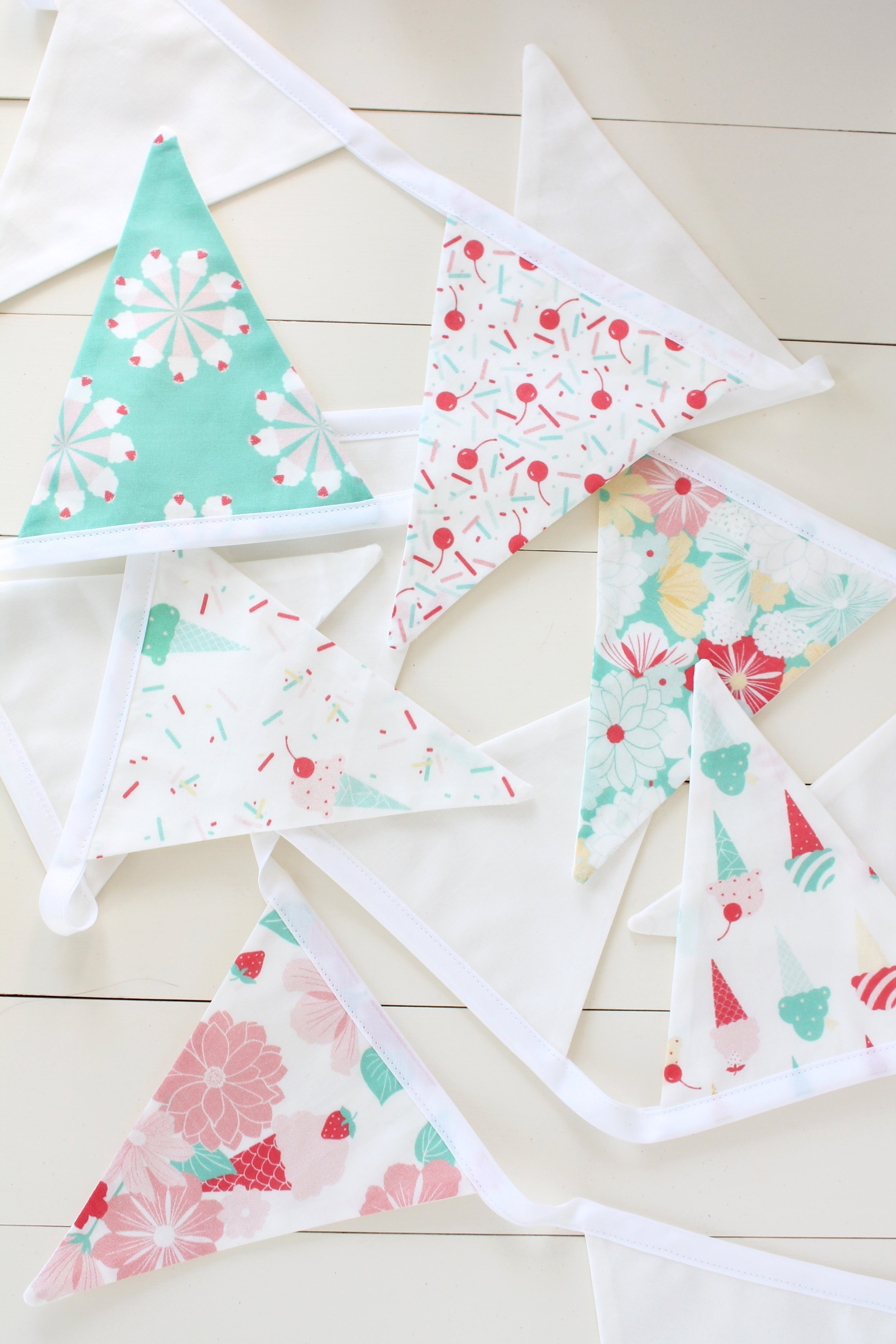 Bunting made by Tessie Fay