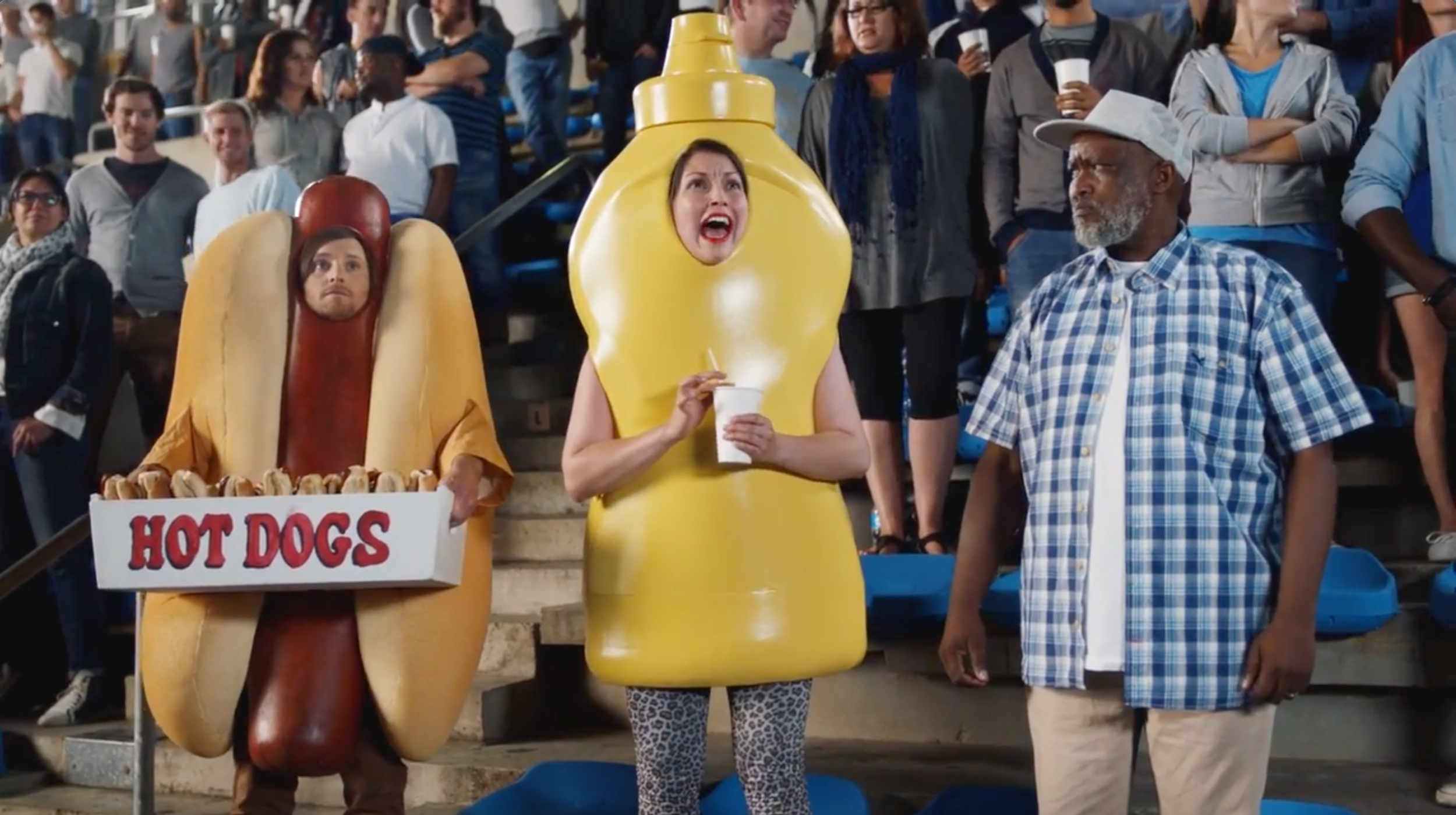 Kiss Cam - Heinz Commercial (2016)