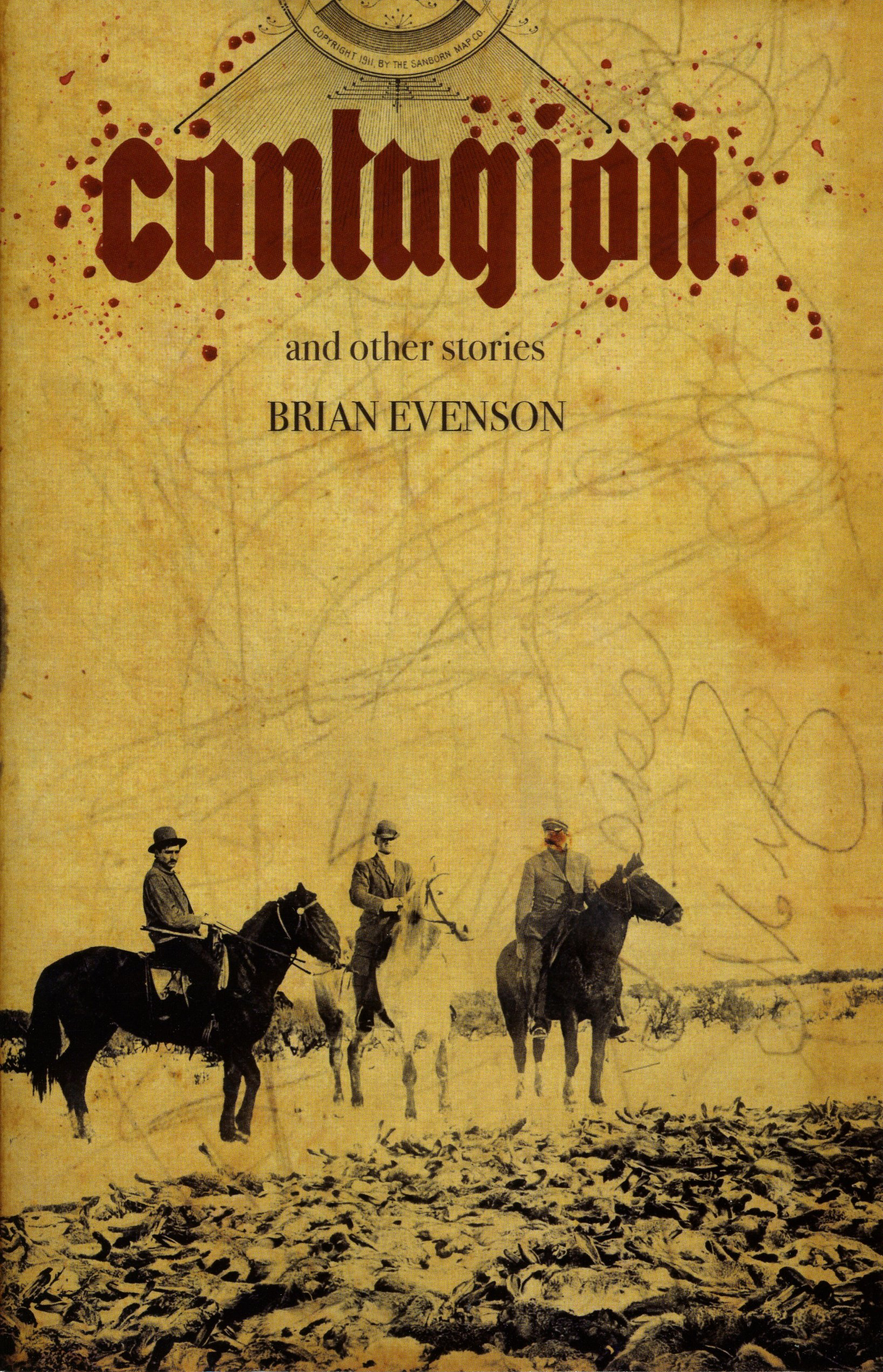 AP 5 CONTAGION by Brian Evenson