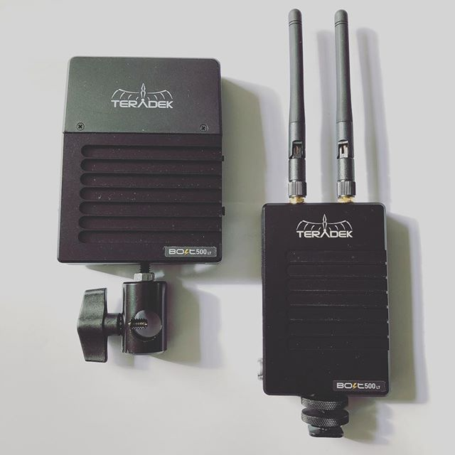 Teradek Bolt 500 LT HDMI Wireless transmitter and receiver available for hire for only £60/day. To book call 0121 572 3893 or visit www.photovideokithire.com #teradek #500lt #wireless #hdmi #sony #canon #panasonic #hireme #rental