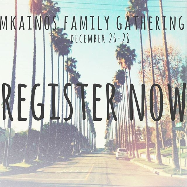 Registration is open!! There is limited space so be sure to register now! We welcome all MKs in and outside California to join us.  As announced previously, the Family Gathering is first come (&pay) first serve. No exceptions. We are not providing transportation or housing.  https://docs.google.com/forms/d/e/1FAIpQLSfCwKzljE8czcFb1OXiYY4dh0rG5-FoUoEhc2qm6dMs5AExmQ/viewform?c=0&w=1