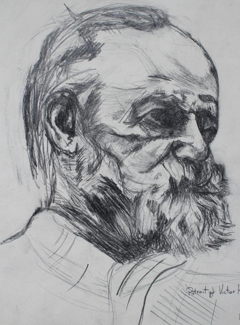 """""""Victor Hugo after Rodin"""" (2002)"""