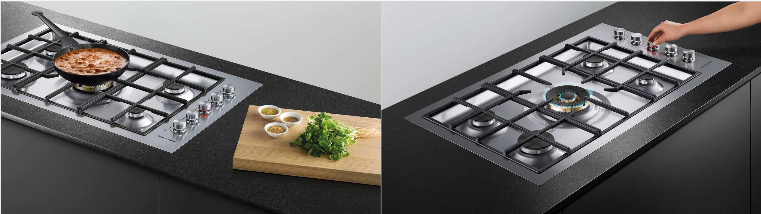 fisher and paykel flush cooktop