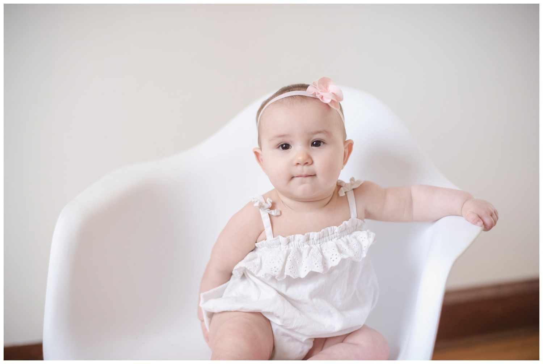 baby studio portrait session