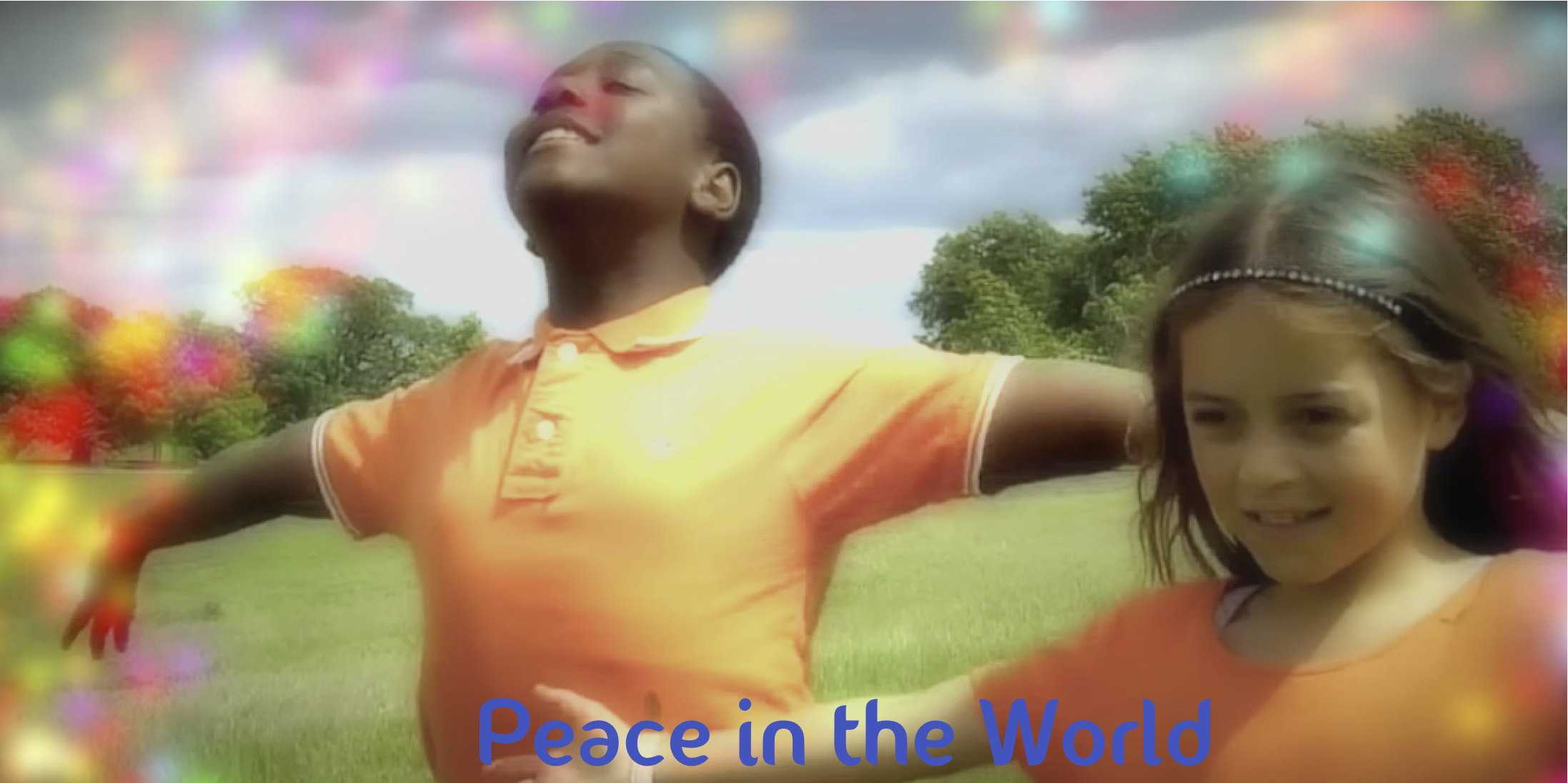 Filming the Peace Button Song