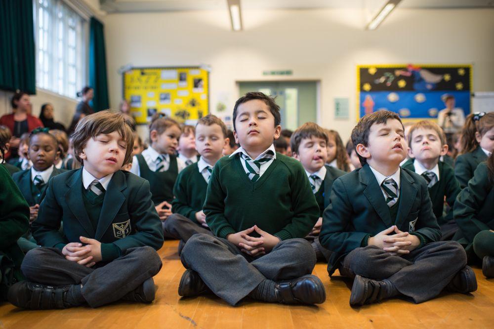 Peace Button school