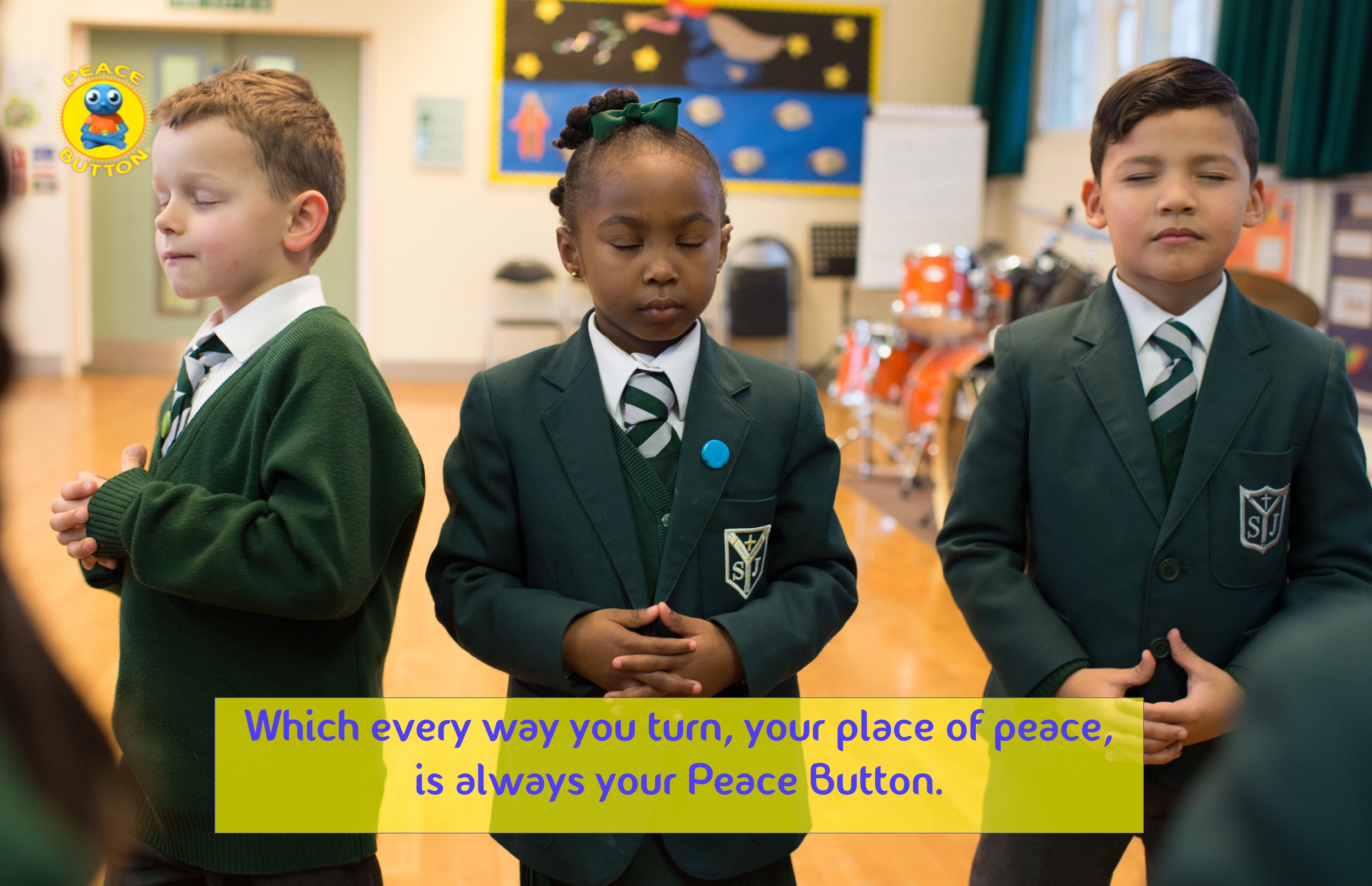 Your Peace Button is always your centre