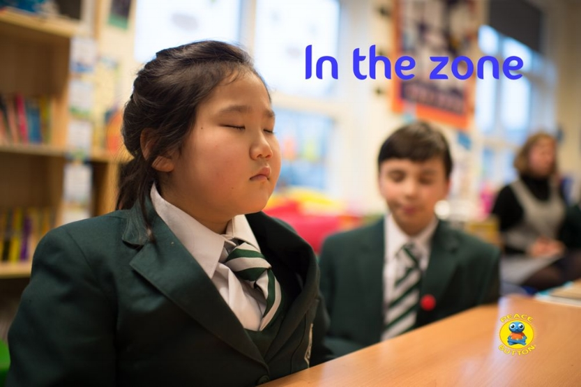 'In the zone' with KS2 children