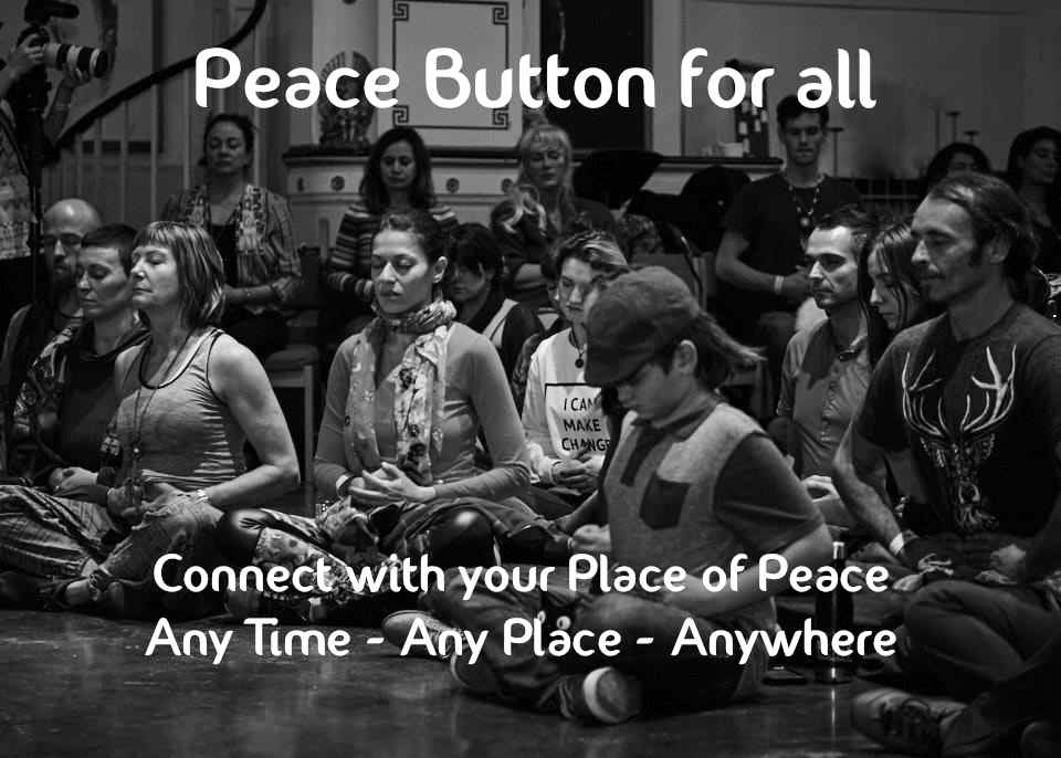 Peace Button for adults too!
