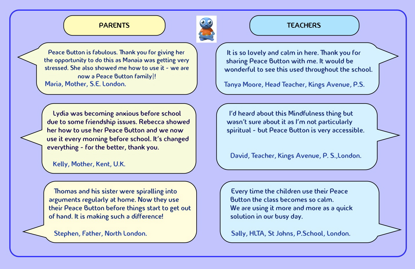 School testimonials