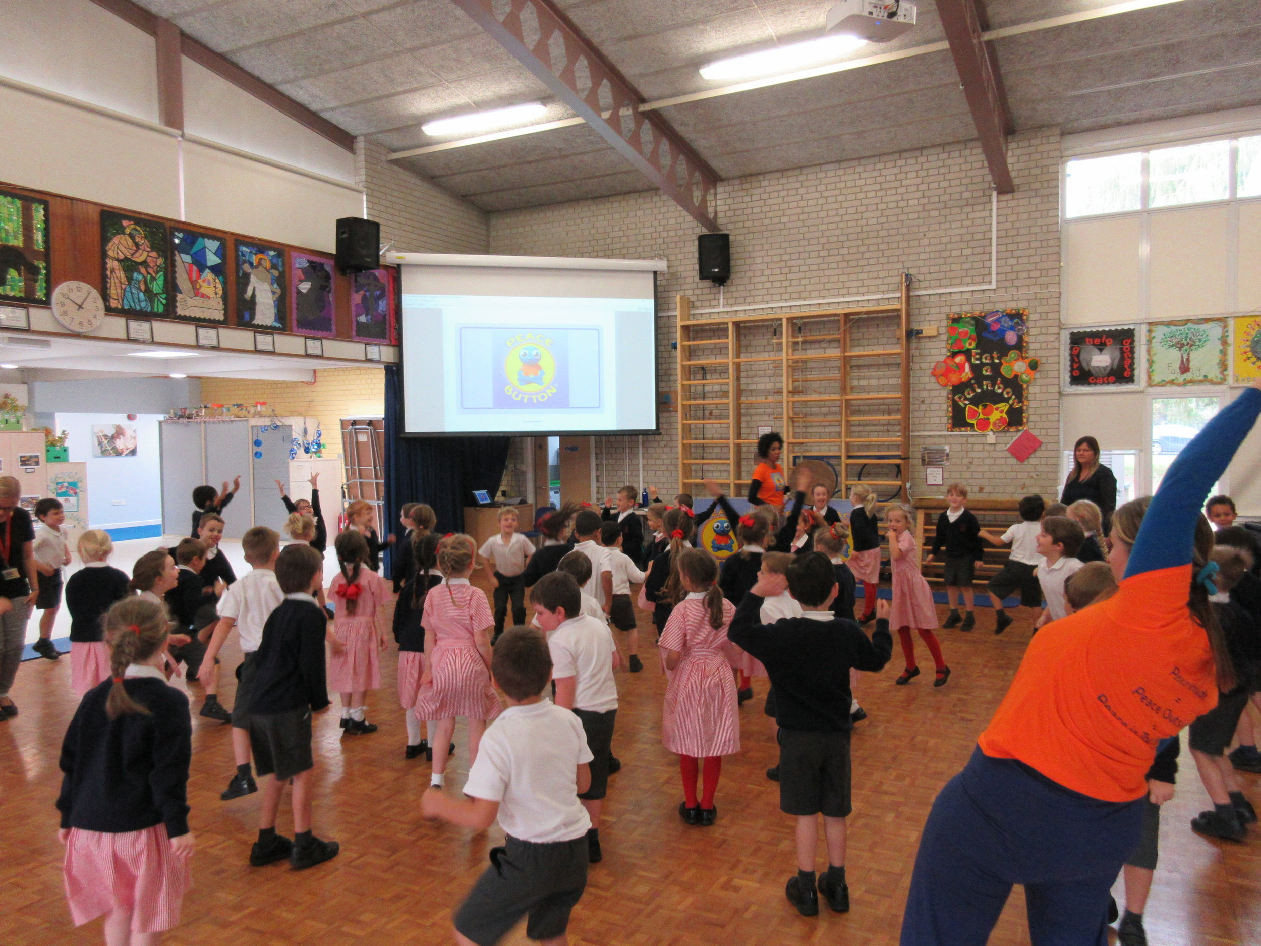 Mindfulness via movement and song