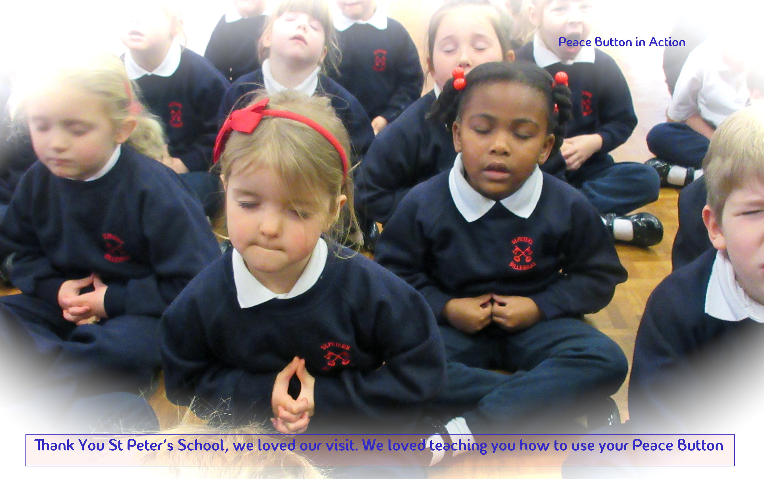 Peace at St Peter's School