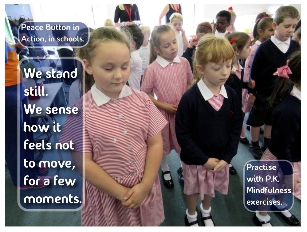 We stand still...