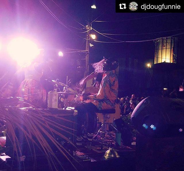 Night 2 tonight • #TonyAllen × #KumasiAfrobeat + #PreservationHall @ #MusicBoxVillage = 🔥🔥🔥 @kumasiafrobeat @neworleans.airlift