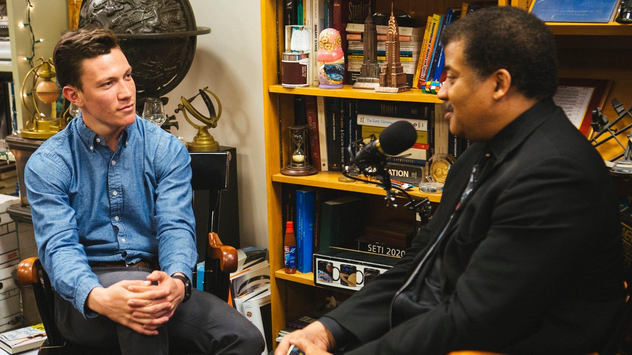 Interviewing Neil deGrasse Tyson