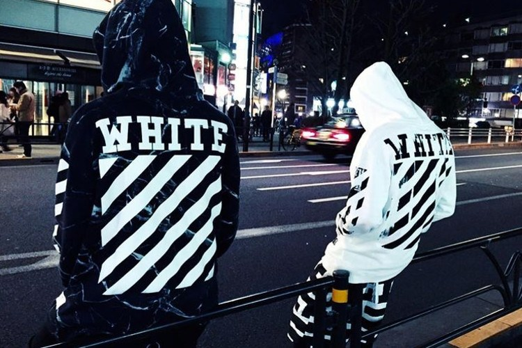 Off-White: Big, Bright Logos