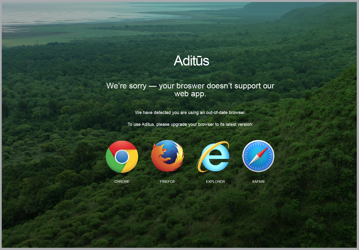Aditus 2.0 - Upgrade Browser message 2.png