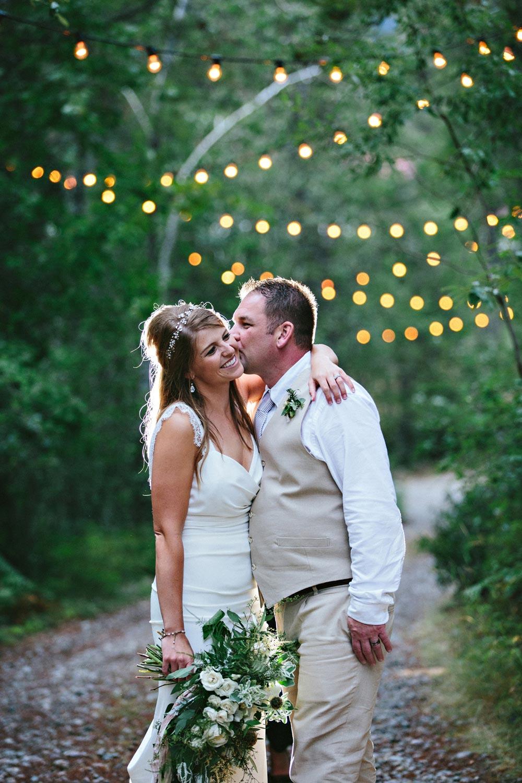 Outdoor mountain wedding planning