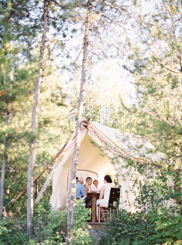 Montana destination elopement package