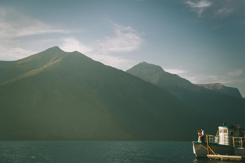 Glacier Park Destination Elopement