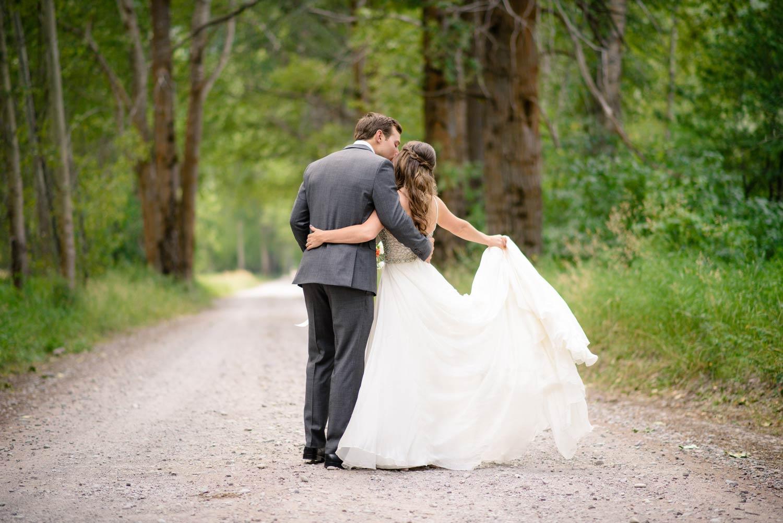 Small Mountain Wedding in Montana