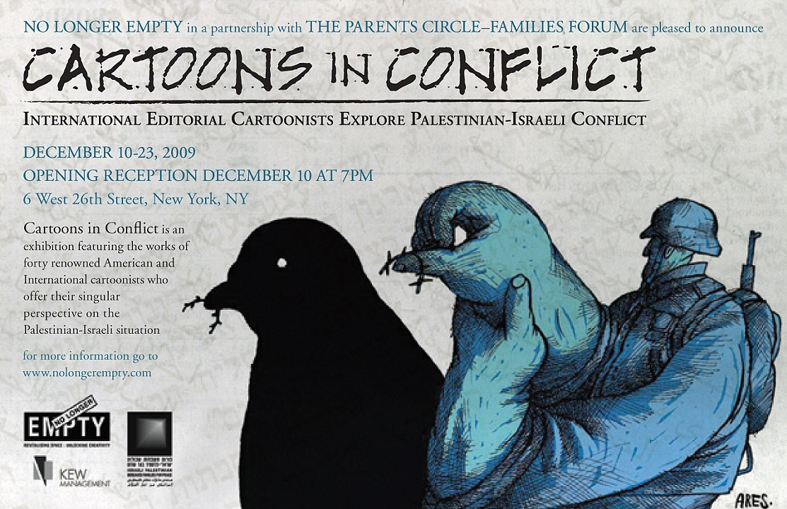 Cartoons in Conflict: International Editorial Cartoonists Explore Palestinian-Israeli Conflict