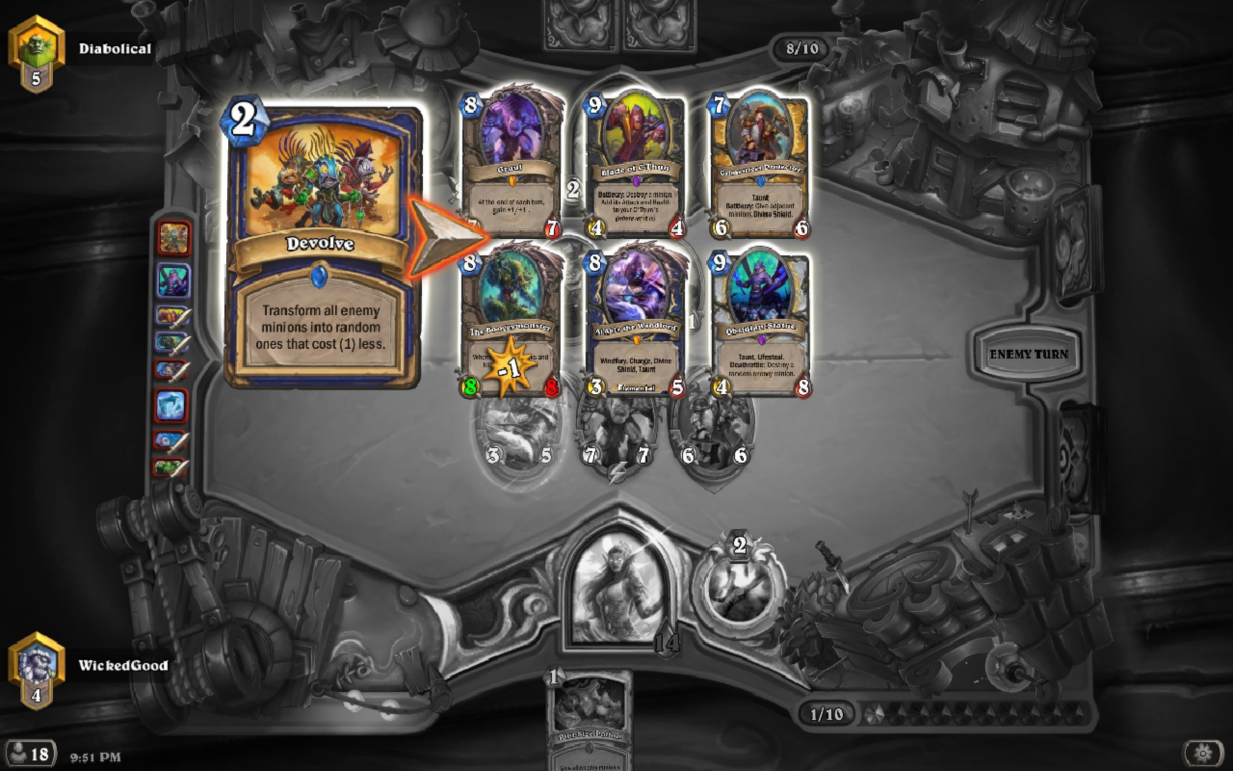 Friends don't let friends use Devolve against Big Priest.