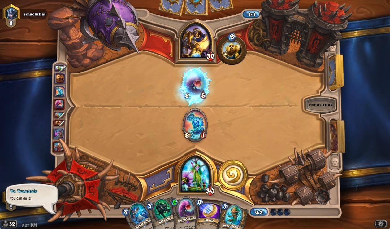 Glacial Shard is your friend against aggressive decks.