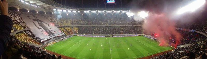Steaua - Dinamo, meciul anului în fotbalul românesc aflat încă în moarte clinică.
