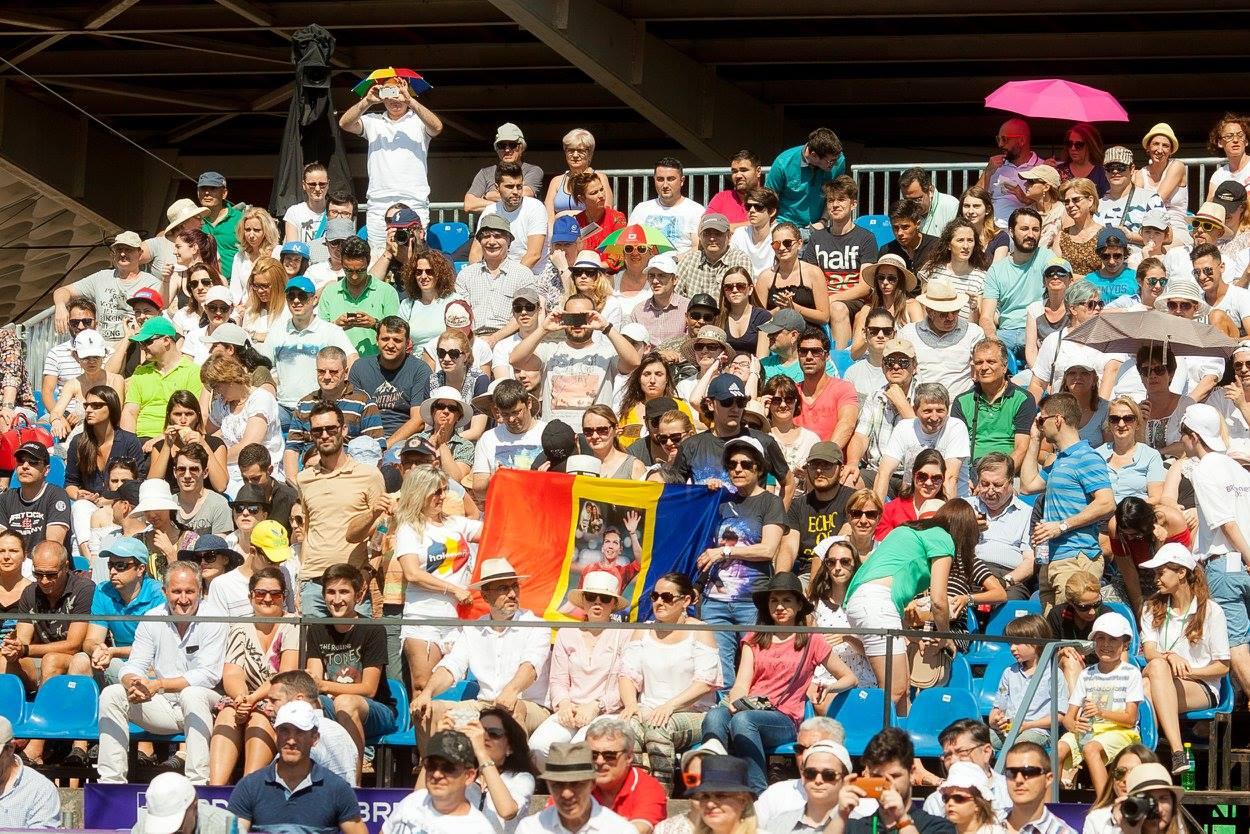 Românii au avut parte de o săptămână în care au putut vedea tenis de calitate la Arenele BNR. / Foto Facebook BRD Bucharest Open